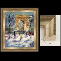 Custom Art Wood Frame Contemporary High End Quality 109