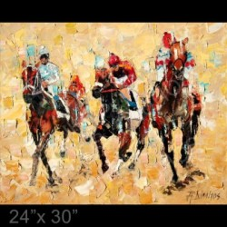"""The Race"" -  Thoroughbred horse racing"