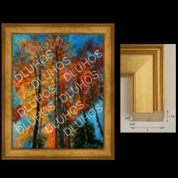 Custom Art Wood Frame Contemporary High End Quality 712