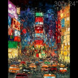 """New York Times Square Night"""