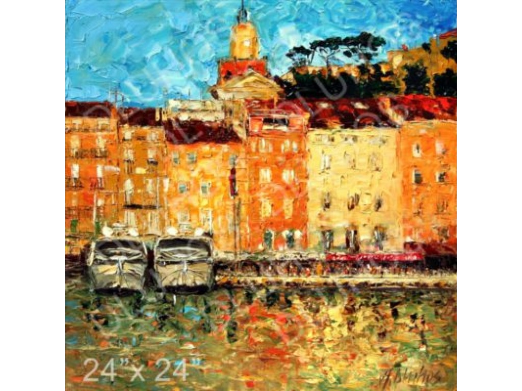 """St. Tropez Waterfront"""