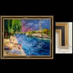 Custom Art Wood Frame Contemporary High End Quality 591